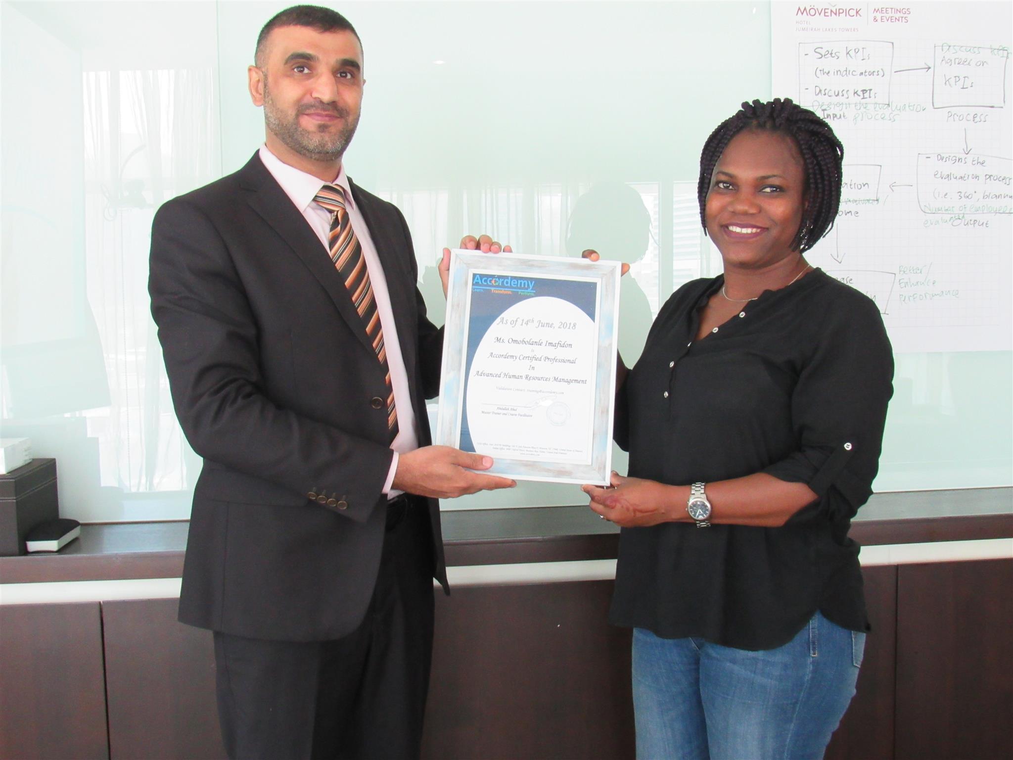 HRM Course in Dubai