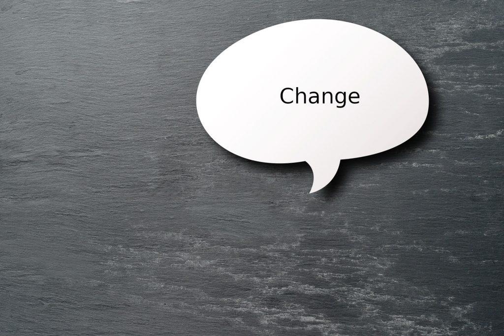 Effective communication training as part of change management - talk bubble