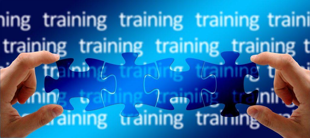 Change management training needs - puzzle